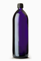 Miron Violet Glass water bottle (1 Liter )