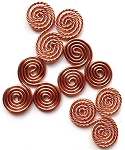 Triskelions (copper - set of 4)
